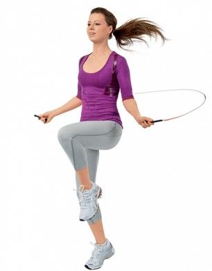 Прыжки с поднятием колена