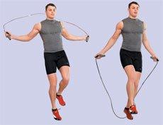 Прыжки с выбросом ноги вперёд