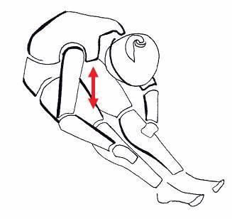 Упражнение на растяжку (ноги) 5