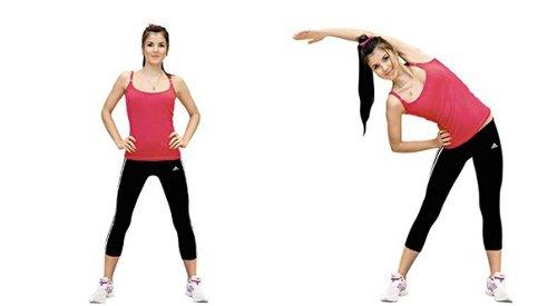 Упражнение на растяжку (пресс) 2