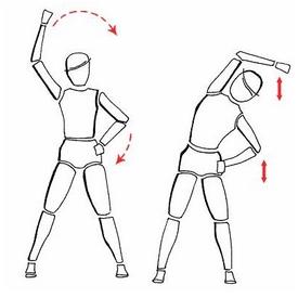 Упражнение на растяжку (спина) 3