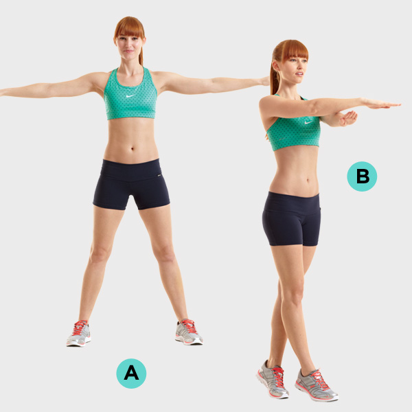 Упражнения для растяжки (Грудь) 1