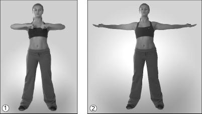 Упражнения для растяжки (Грудь) 2