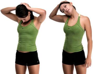 Упражнения на растяжку (Шея) 1