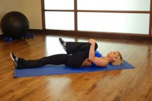 Упражнения на растяжку (Ягодицы) 2