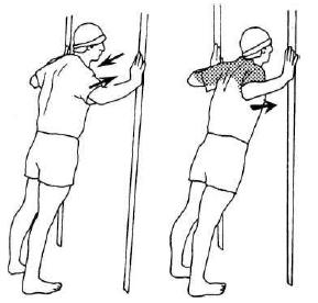 Упражнения на растяжку (грудь) 3