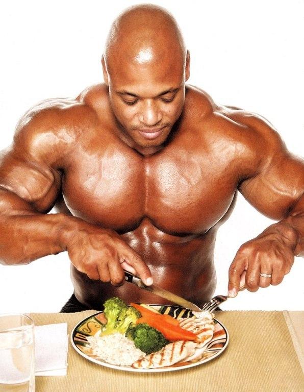 Правильное питание для роста мышц мужское меню