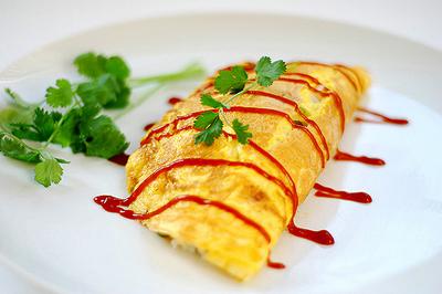 Вкусные диетические блюда для похудения (омлет)2