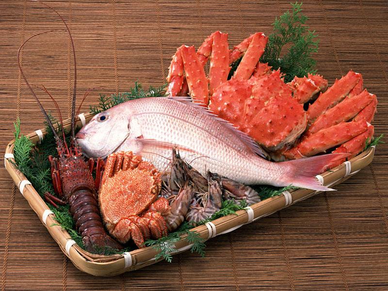 Чем заменить протеин (морепродукты)