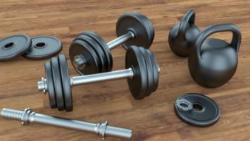 Спортивные товары для фитнеса и аэробики 3