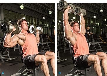 Базовые упражнения для набора мышечной массы 5