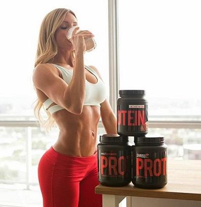 Девушки и протеин 2