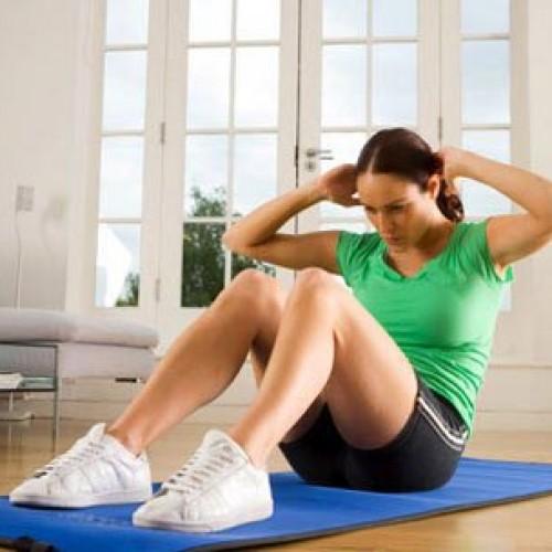 Как правильно выполнять упражнение дровосек