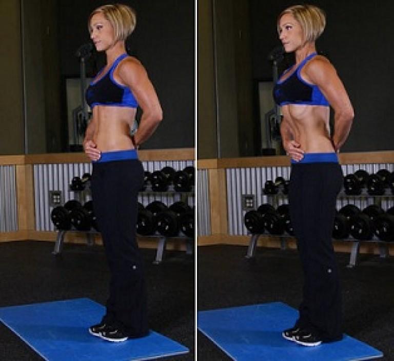 Упражнение вакуум для похудения