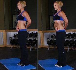 Упражнение вакуум для плоского живота 3