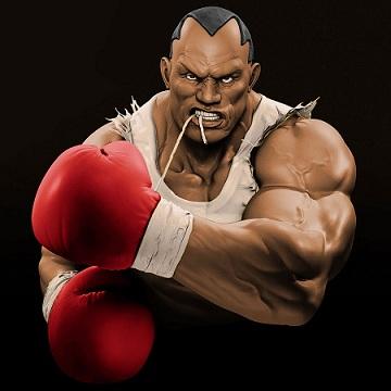Силовая тренировка бойца 3