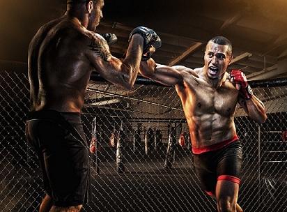 Силовая тренировка бойца
