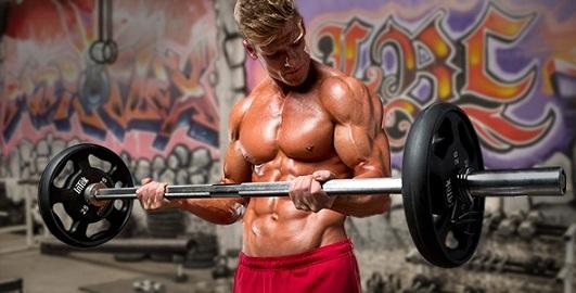 Тренировка мышц бицепса