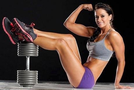 Тренировка мышц бицепса 2