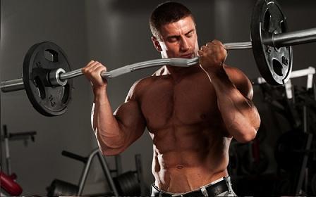 Тренировка мышц бицепса 3