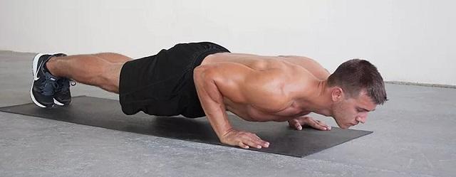 Комплекс упражнений своим телом для мужчин