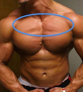 Как накачать верх груди