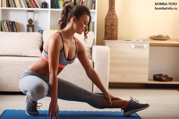 Силовые упражнения в домашних условиях для лентяев