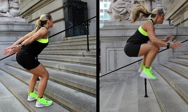 Прыжки на лестнице