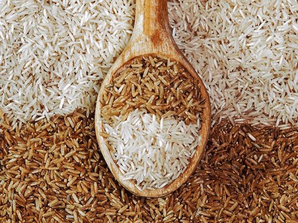 Состав бурого риса