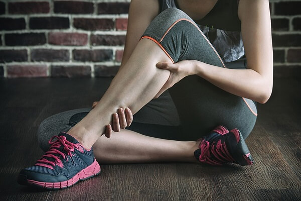 судорога икроножных мышц
