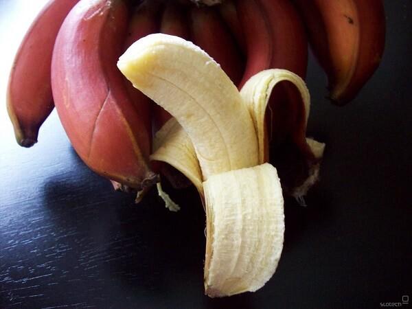 Польза красных бананов