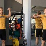 Как укрепить плечи: тренировка вращательной манжеты