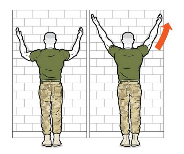 Скольжения у стены