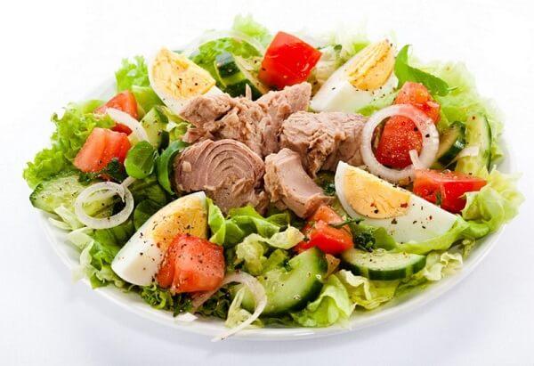 Салат с мясом для ужина