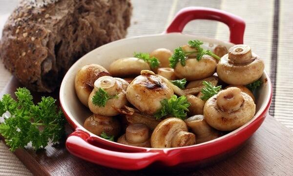 Запечённые грибы