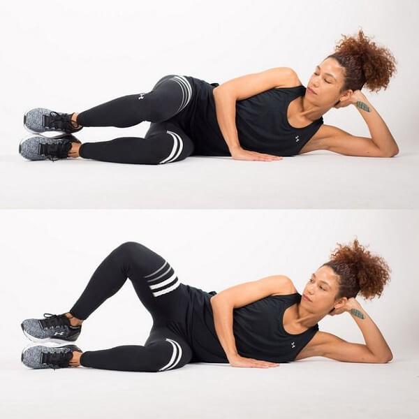 Упражнения «Моллюск»