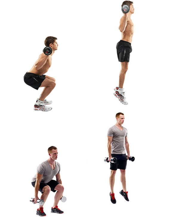 Прыжки с весом