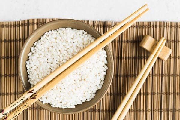 Рис с палочками