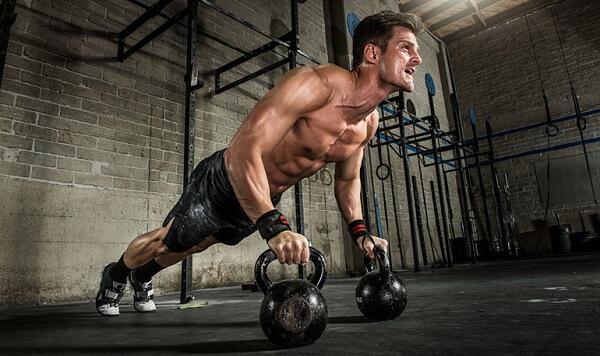 Комплекс упражнений с гирей