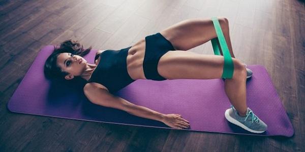Упражнения с фитнес-резинками