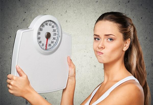 Почему вес стоит