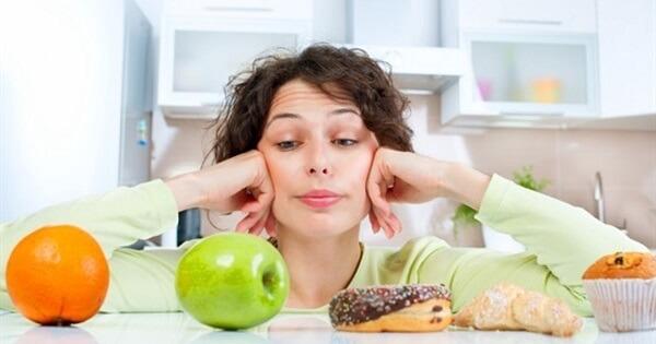 Выбор употреблять сладкое или фрукты