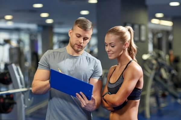 Консультация фитнес тренера
