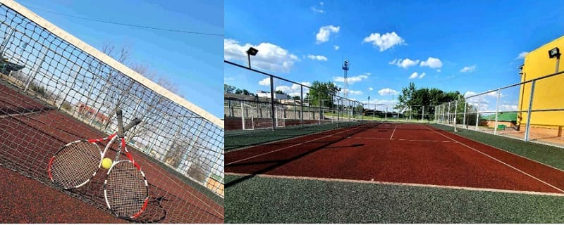 Теннисный корт ФОК